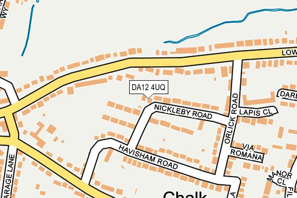 DA12 4UQ map - OS OpenMap – Local (Ordnance Survey)