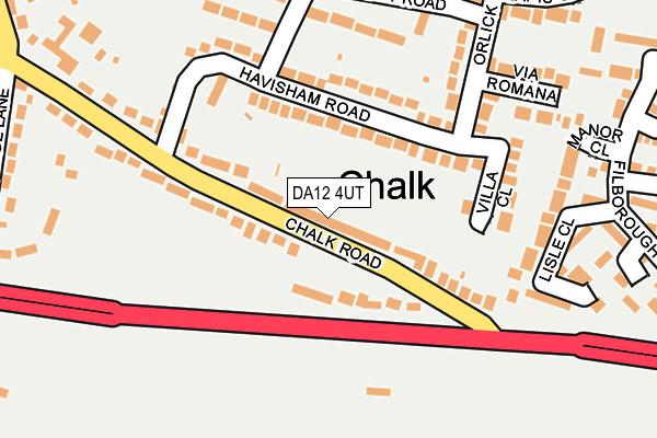 DA12 4UT map - OS OpenMap – Local (Ordnance Survey)