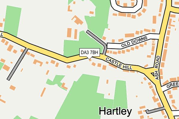 DA3 7BH map - OS OpenMap – Local (Ordnance Survey)