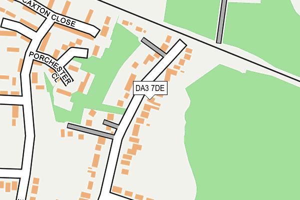 DA3 7DE map - OS OpenMap – Local (Ordnance Survey)
