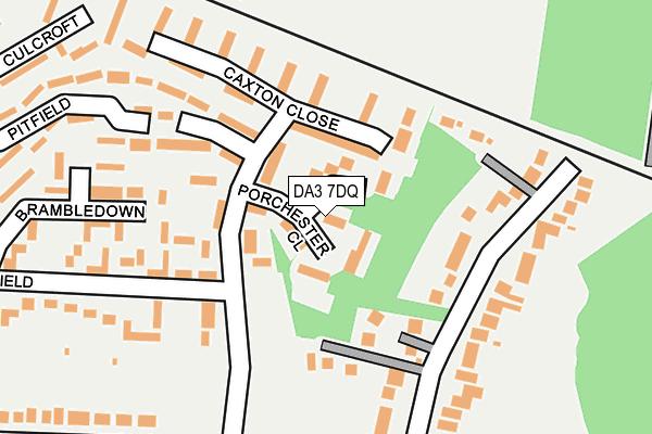 DA3 7DQ map - OS OpenMap – Local (Ordnance Survey)
