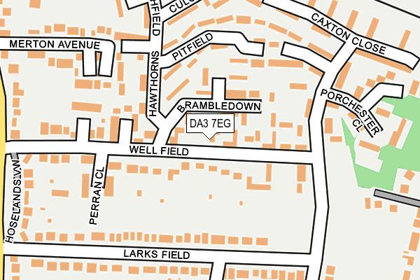 DA3 7EG map - OS OpenMap – Local (Ordnance Survey)