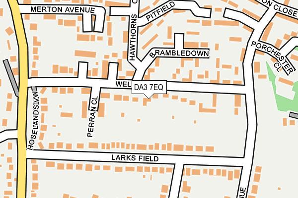 DA3 7EQ map - OS OpenMap – Local (Ordnance Survey)