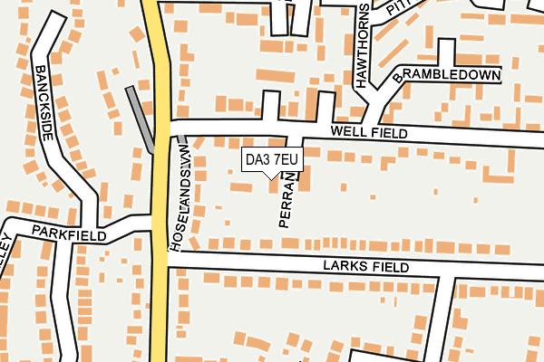 DA3 7EU map - OS OpenMap – Local (Ordnance Survey)