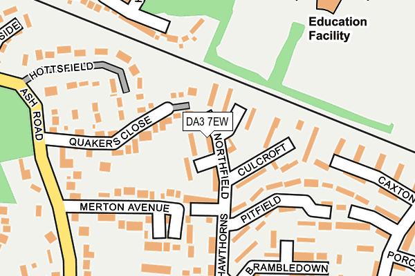 DA3 7EW map - OS OpenMap – Local (Ordnance Survey)