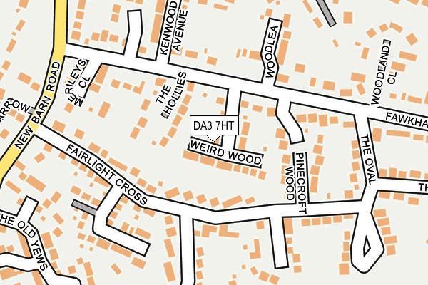 DA3 7HT map - OS OpenMap – Local (Ordnance Survey)