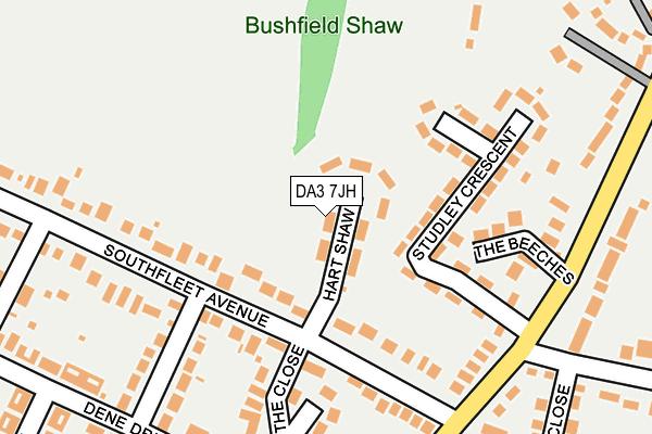 DA3 7JH map - OS OpenMap – Local (Ordnance Survey)