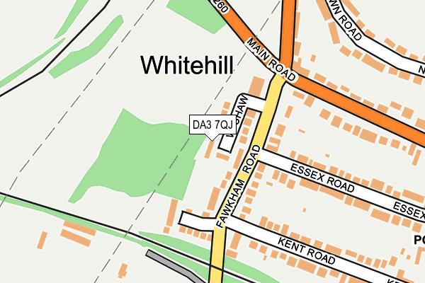 DA3 7QJ map - OS OpenMap – Local (Ordnance Survey)