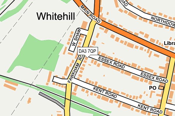 DA3 7QP map - OS OpenMap – Local (Ordnance Survey)