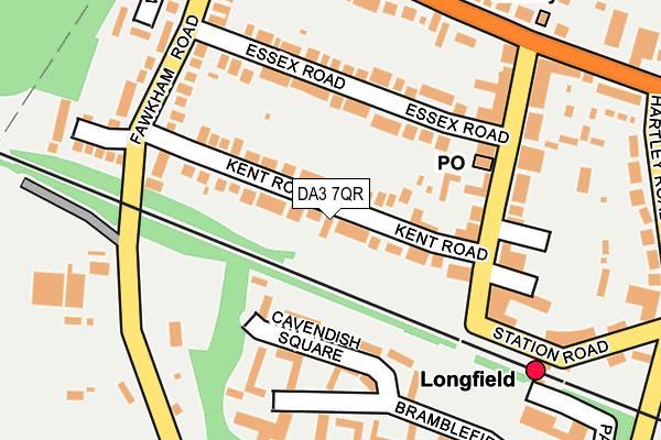 DA3 7QR map - OS OpenMap – Local (Ordnance Survey)