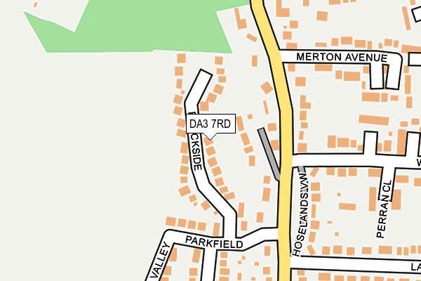 DA3 7RD map - OS OpenMap – Local (Ordnance Survey)