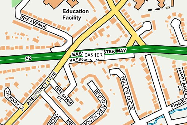 DA5 1ER map - OS OpenMap – Local (Ordnance Survey)