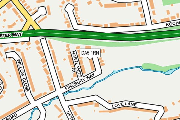 DA5 1RN map - OS OpenMap – Local (Ordnance Survey)