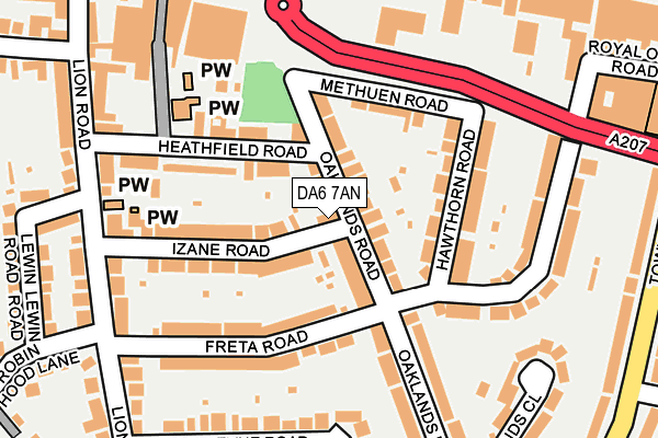 Map of KITCHEN DIRECT LTD at local scale