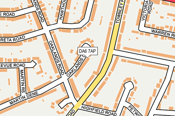 Map of B & M REAL ESTATE LTD at local scale