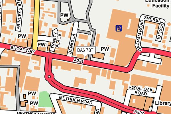 DA6 7BT map - OS OpenMap – Local (Ordnance Survey)