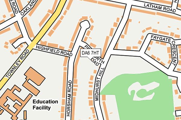 DA6 7HT map - OS OpenMap – Local (Ordnance Survey)
