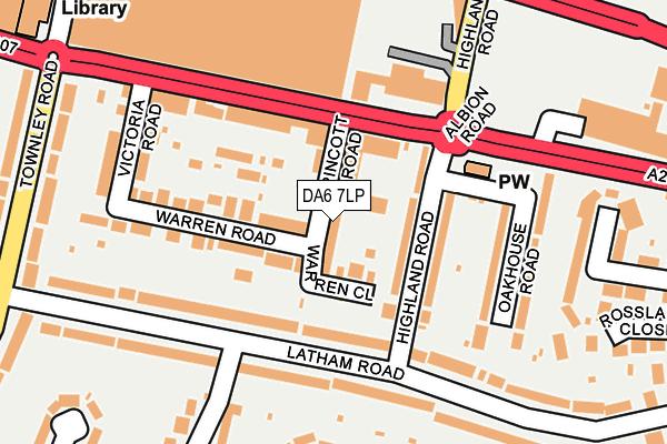DA6 7LP map - OS OpenMap – Local (Ordnance Survey)
