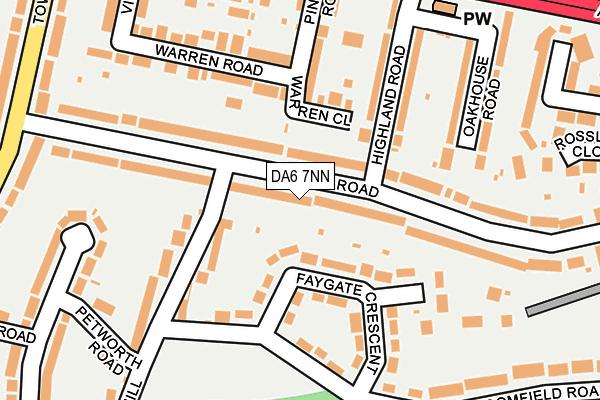DA6 7NN map - OS OpenMap – Local (Ordnance Survey)
