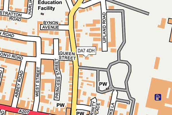DA7 4DH map - OS OpenMap – Local (Ordnance Survey)