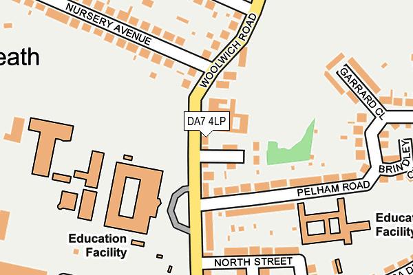 DA7 4LP map - OS OpenMap – Local (Ordnance Survey)