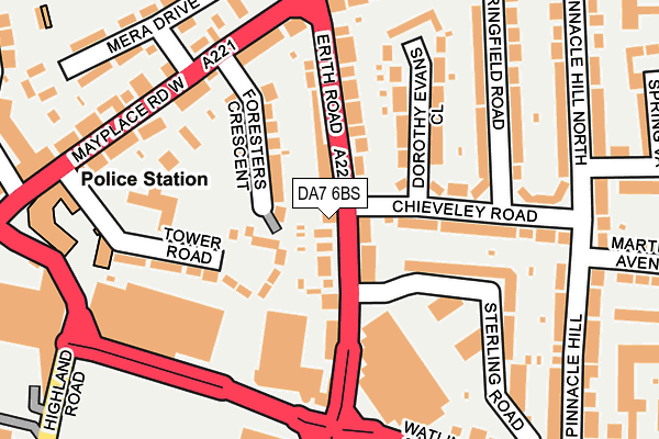 Map of CLEVER LIGHT LTD at local scale