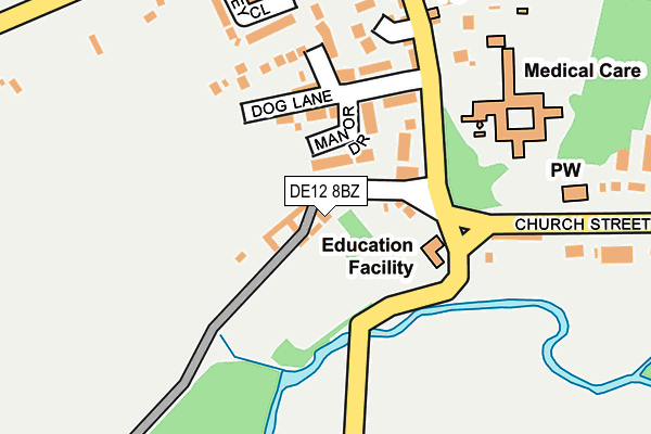 Map of POINTON PRODUCTIONS LIMITED at local scale