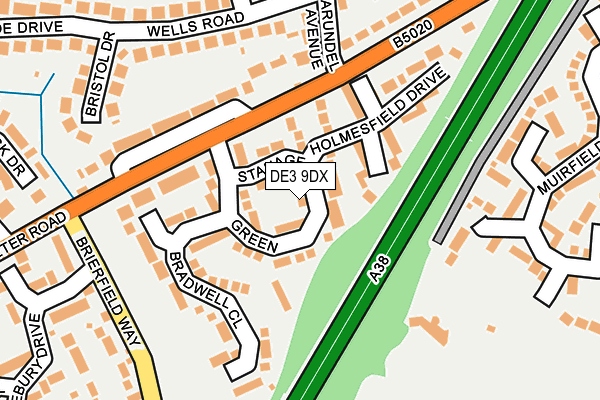 Map of SOCIAL MATE LTD at local scale
