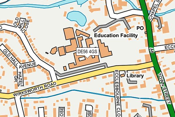 DE56 4GS map - OS OpenMap – Local (Ordnance Survey)