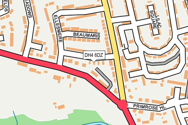 Map of POLARIS CREATIVE COMMUNITY INTEREST COMPANY at local scale