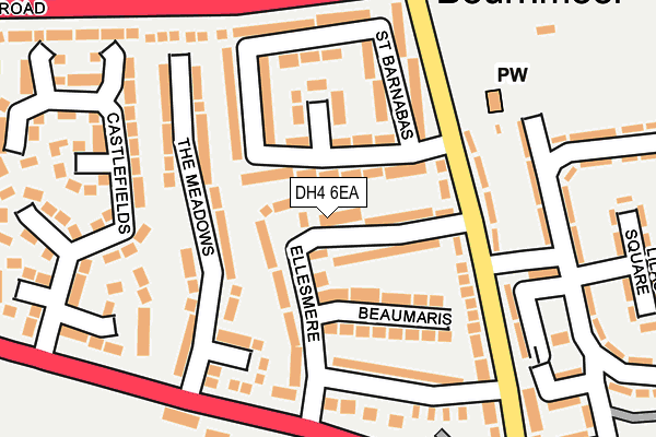 Map of SNHD LIMITED at local scale
