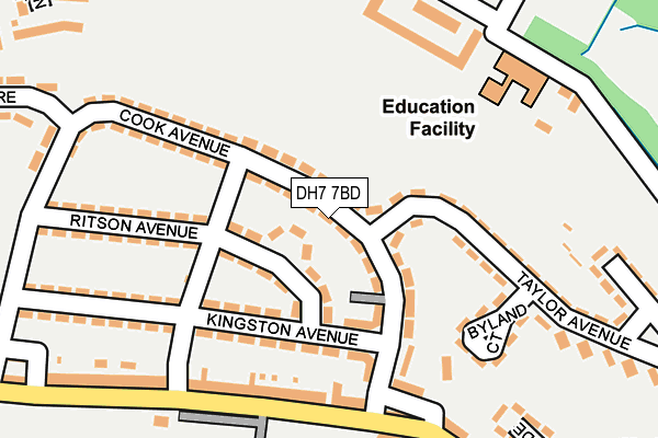 Map of TIPTOES PLAY LTD at local scale