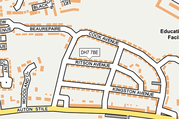Map of KJAM GROUNDWORKS LTD at local scale