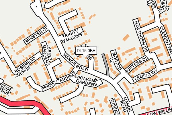 Map of WALKER & WALKER PROPERTIES LTD at local scale