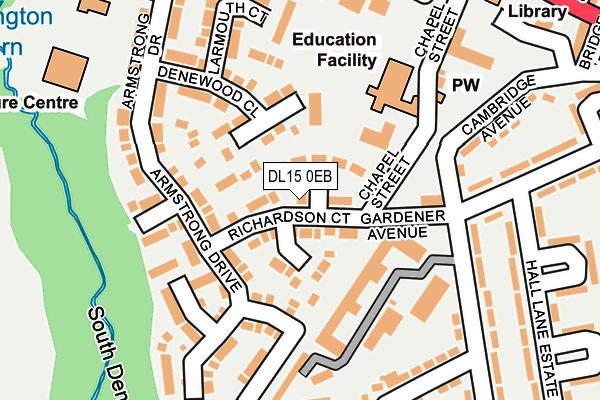 Map of HEATON SCAFFOLDING LTD at local scale