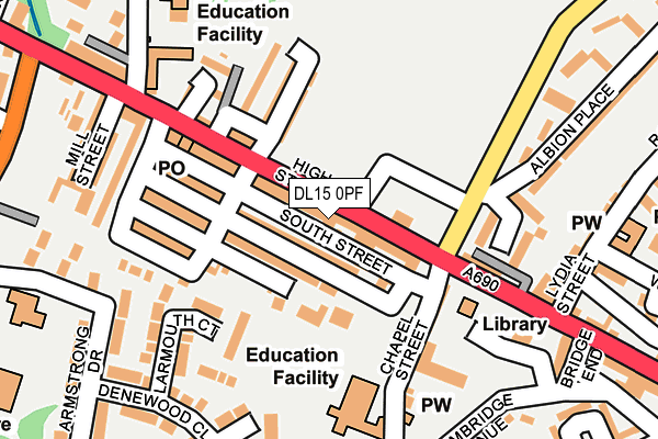Map of LUCKY WILLINGTON LIMITED at local scale