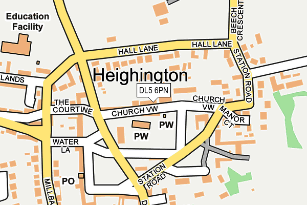 Map of NORTH EAST PSYCHOLOGY SERVICES LIMITED at local scale