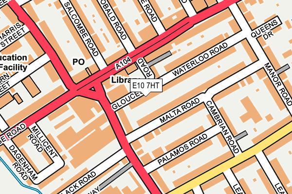 E10 7HT map - OS OpenMap – Local (Ordnance Survey)