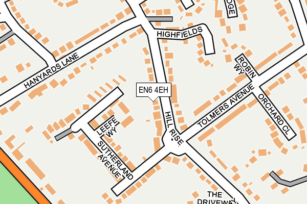 Map of CHEAP TRAINING LTD at local scale