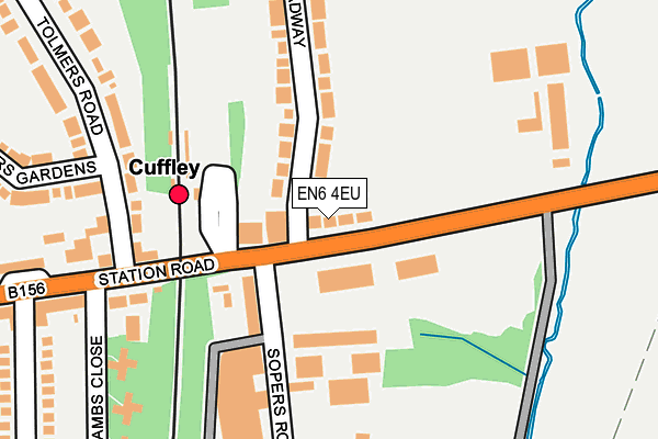 Map of ARES PLUMBING AND HEATING LTD at local scale