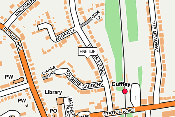 Map of FLUENTPAY LTD at local scale