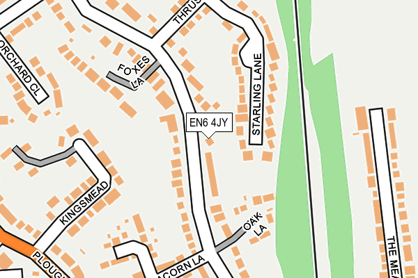Map of HAMBIS LTD at local scale