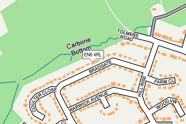 Map of EXCLUSIVE CINEMAS LTD at local scale