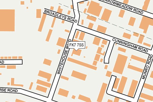 Map of DRON & DICKSON GROUP LIMITED at local scale