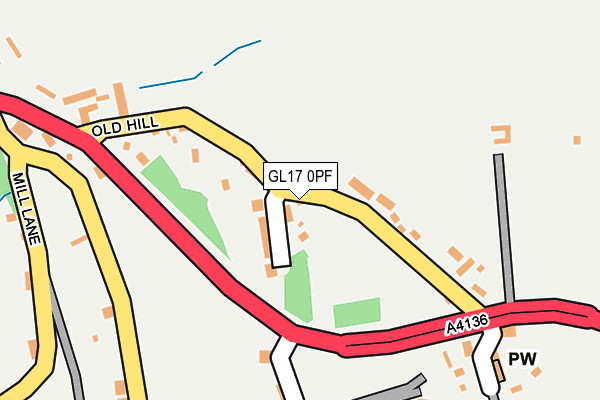 Map of CS SURVEYING LTD at local scale