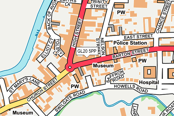 Map of JELLY ROLL CAFE LIMITED at local scale