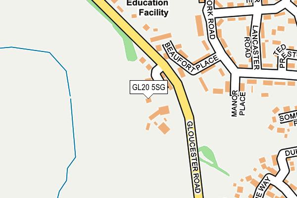 GL20 5SG map - OS OpenMap – Local (Ordnance Survey)