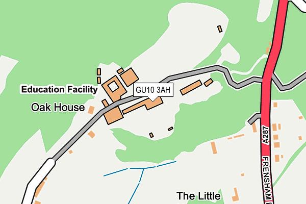 GU10 3AH map - OS OpenMap – Local (Ordnance Survey)