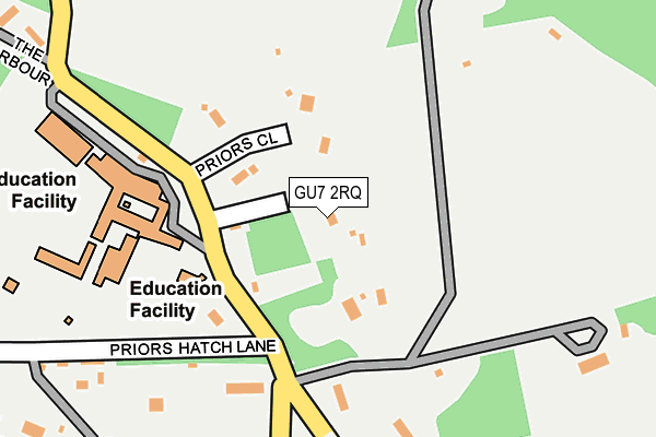 Map of MEADOWBARN SERVICES LTD at local scale