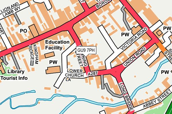 GU9 7PH map - OS OpenMap – Local (Ordnance Survey)